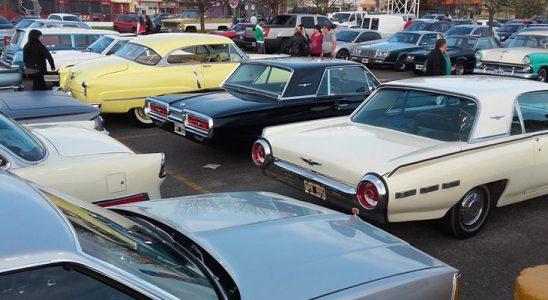 Reunión de Automóviles Americanos en Argentina