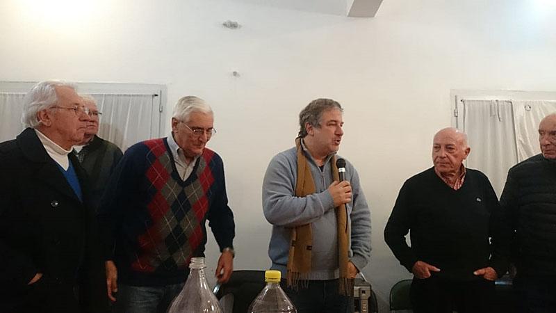 Homenaje a los pilotos de la Misión Argentina