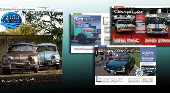 Autohistoria edición nº33. La revista digital de los autos históricos argentinos.