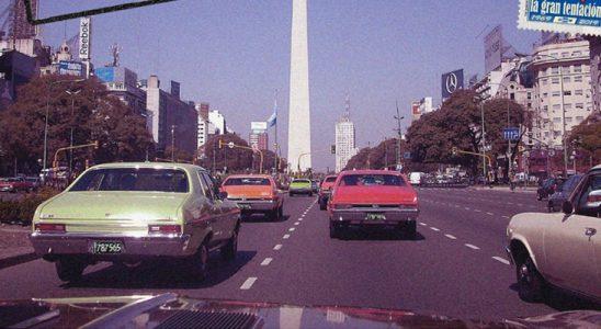 Caravana por los 50 años del Chevy en Argentina