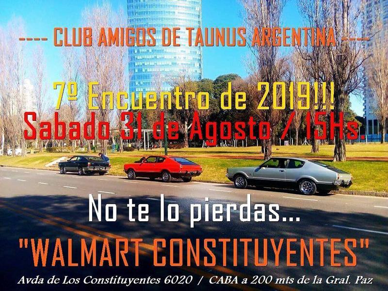 Reunión de agosto del Club Amigos de Taunus Argentina