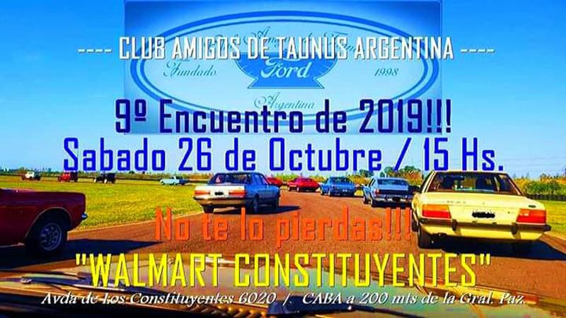 Reunión de octubre del Club Amigos de Taunus Argentina