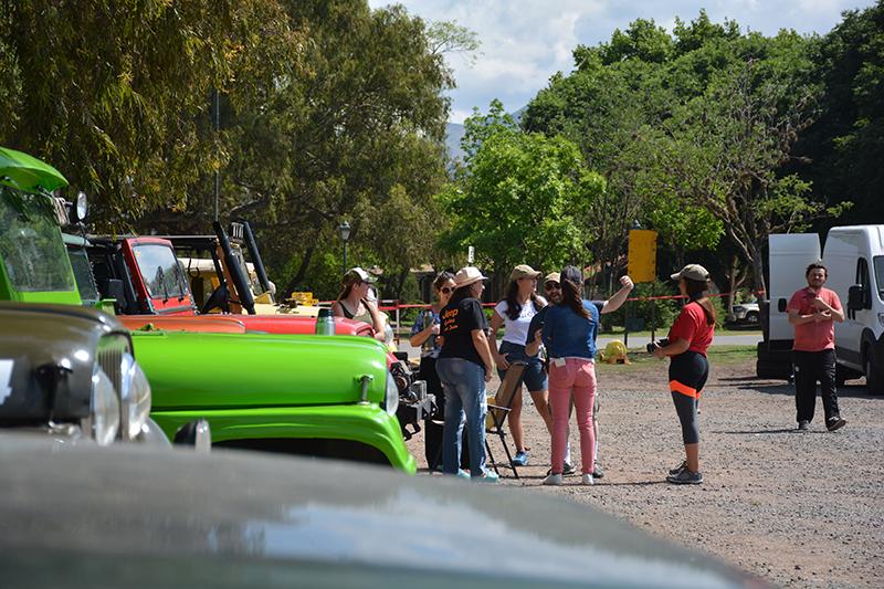 5to Encuentro de la Agrupación Fanáticos del Jeep IKA en La Cumbre y Los Cocos, Córdoba.