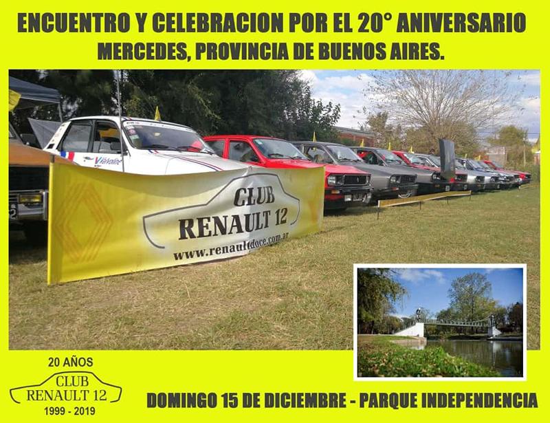 El Club Renault 12 cumple 20 años
