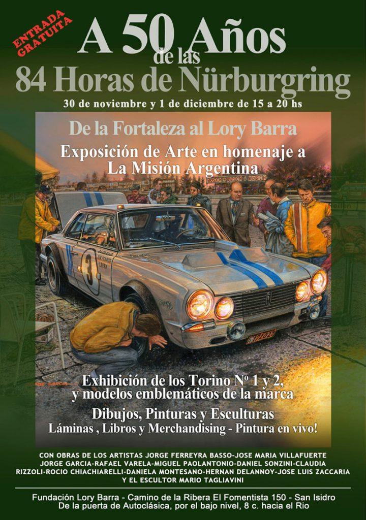 De La Fortaleza a Lory Barra. Exposición de arte en homenaje a la Misión Argentina.