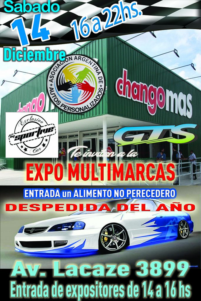 Expo Multimarcas Claypole