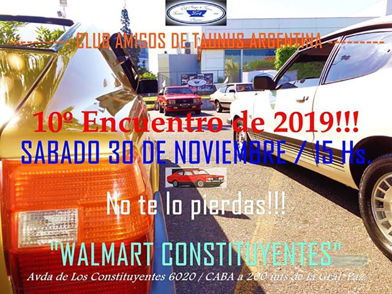 Reunión de noviembre del Club Amigos de Taunus Argentina