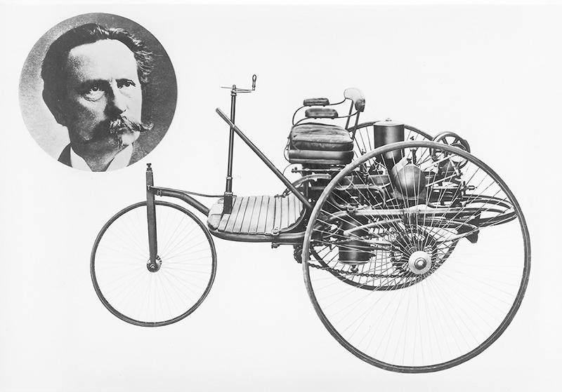 Hace 134 años Benz patentaba el primer automóvil