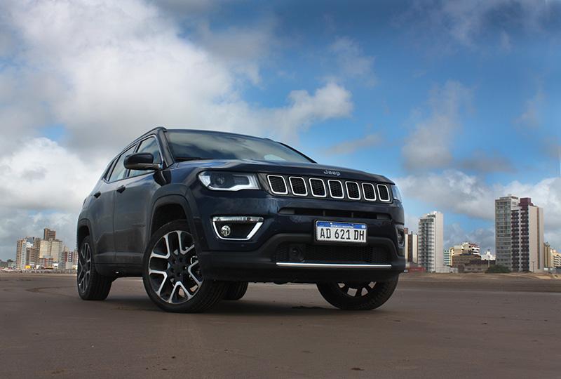 mos la posibilidad de probar el Jeep Compass, el SUV mediano de la legendaria marca off road.