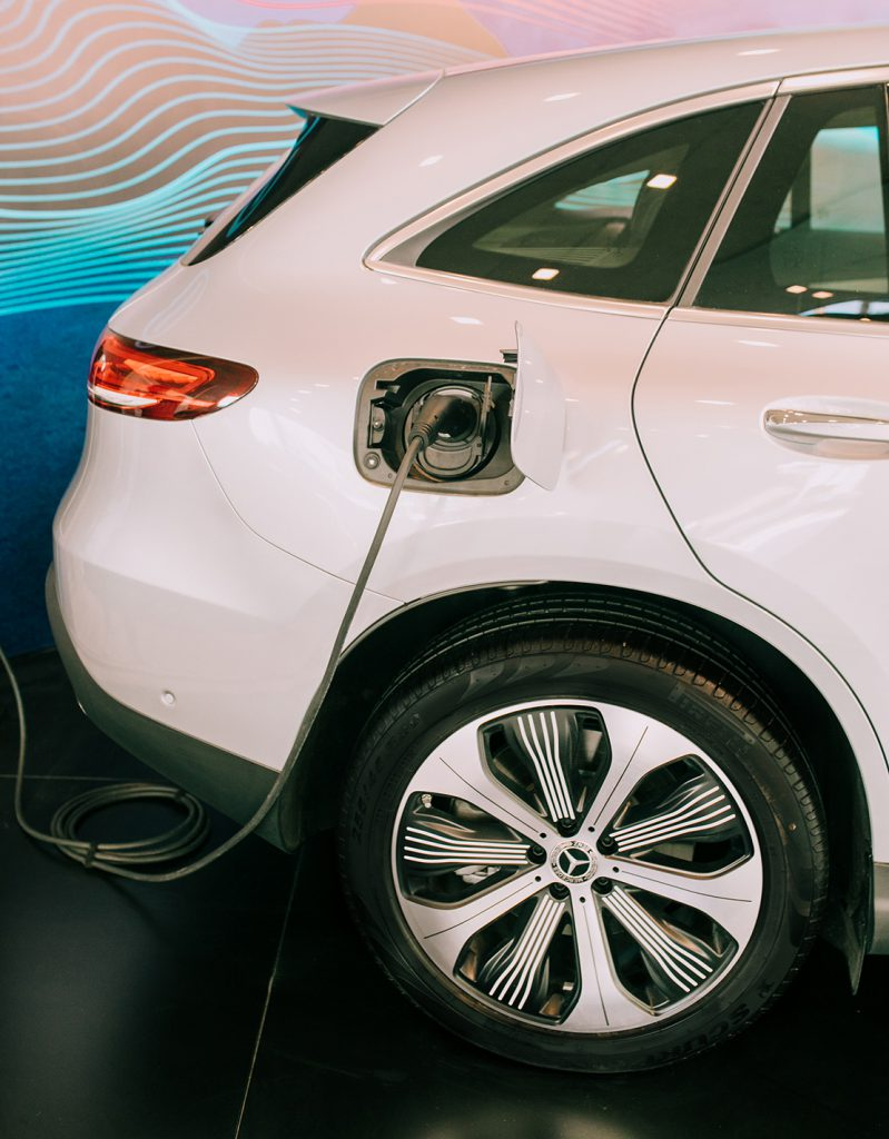 Llegó a la Argentina el primer Mercedes-Benz totalmente eléctrico