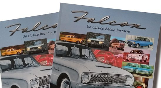 Nueva edición del libro del Ford Falcon