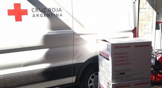 Donaciones de Honda Motor de Argentina
