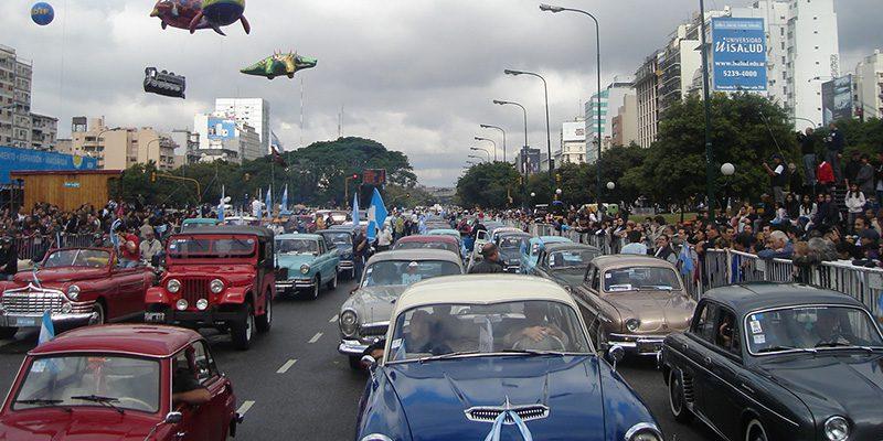 Desfile patrio virtual del Club IAME