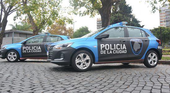 Entrega de unidades Chevrolet a la Policía de la Ciudad