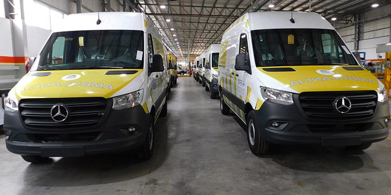 Ambulancias Mercedes-Benz Sprinter en Formosa
