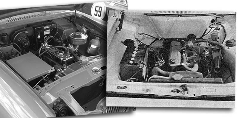 Los motores del SIAM Di Tella y el Dodge 1500