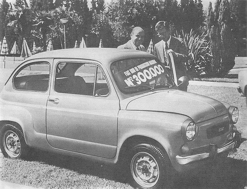 Fiat 600 unidad 300.000.