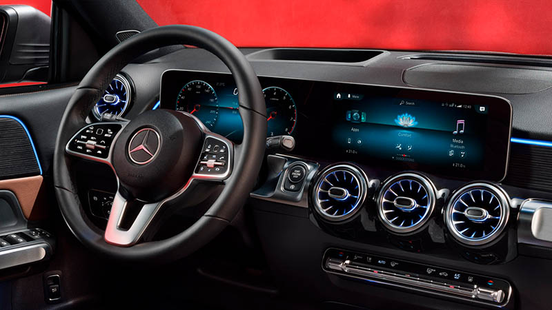 Mercedes-Benz presentó la nueva GLB