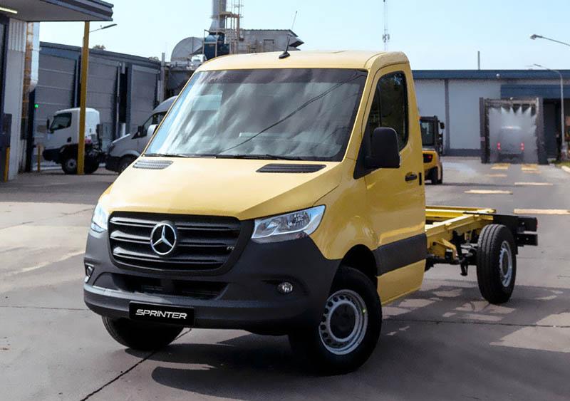 Mercedes-Benz Sprinter Chasis a USA