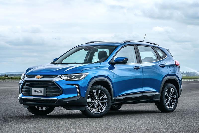Chevrolet presenta la nueva Tracker,