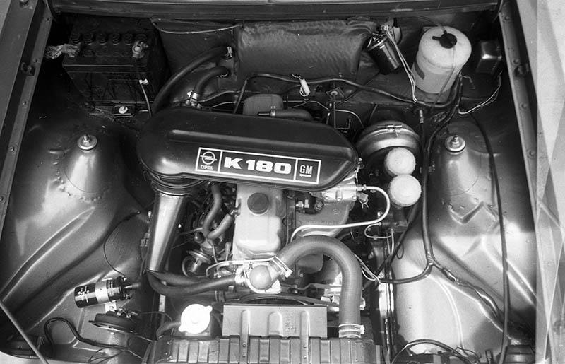 El motor 110 del Opel K 180.