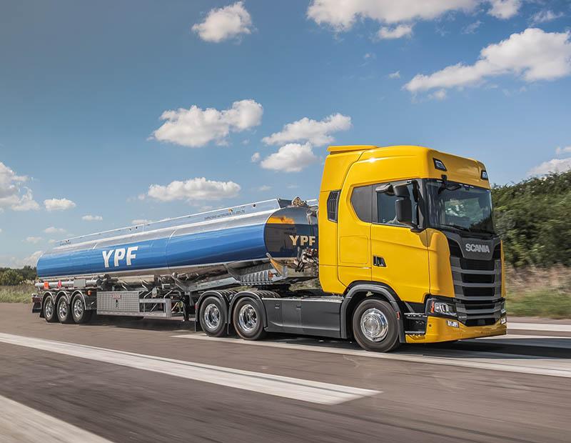 YPF y Scania extendieron su alianza hasta 2021